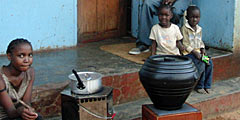 Efficient cook stoves in Zambia by David Mwanza